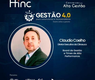Gestão 4.0 – Conversas com Alta Gestão – com Claudio Coelho